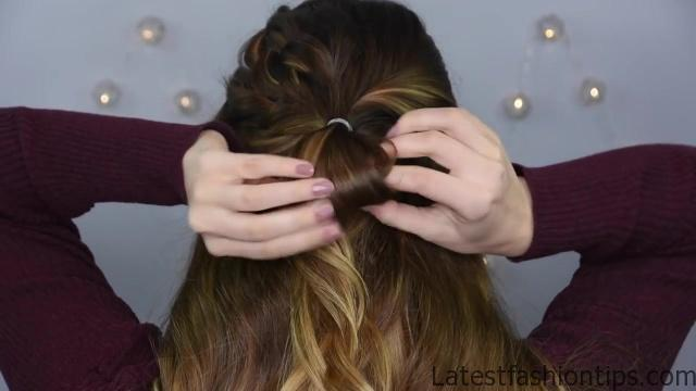 Double Dutch Half Up _ Cute Girls Hairstyles_HD720 9
