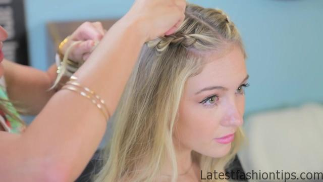 Double Dutch Lace Braids _ Back-to-School Hairstyles_HD720 10