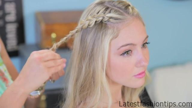 Double Dutch Lace Braids _ Back-to-School Hairstyles_HD720 11