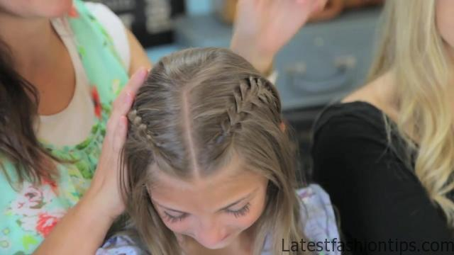 Double Dutch Lace Braids _ Back-to-School Hairstyles_HD720 16