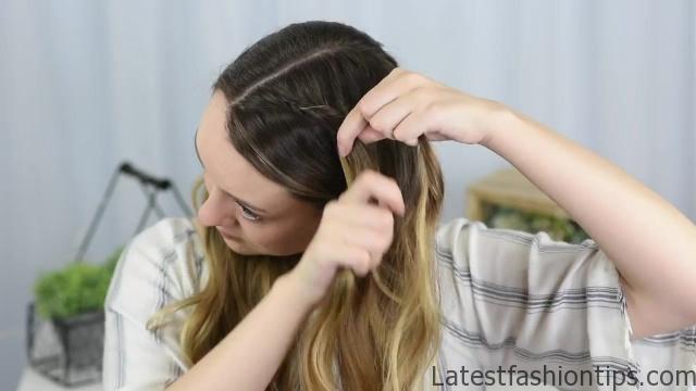 Double Dutch Side Braid _ DIY _ Back to School Hairstyle _ Cute Girls Hairstyles_HD720 06