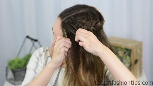 Double Dutch Side Braid _ DIY _ Back to School Hairstyle _ Cute Girls Hairstyles_HD720 08