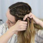 Double Dutch Side Braid _ DIY _ Back to School Hairstyle _ Cute Girls Hairstyles_HD720 09
