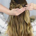 Double Dutch Side Braid _ DIY _ Back to School Hairstyle _ Cute Girls Hairstyles_HD720 11