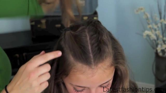 Double French Braid and Twist _ Game of Thrones _ Cute Girls Hairstyles_HD720 07