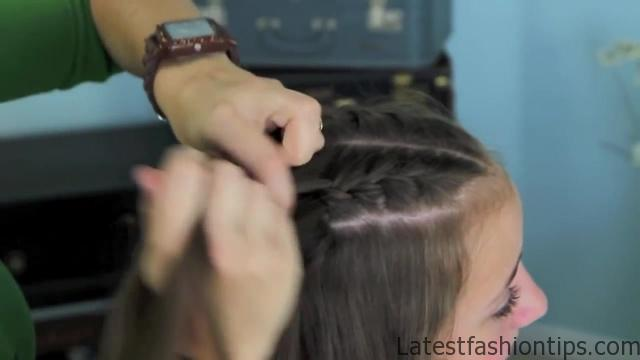 Double French Braid and Twist _ Game of Thrones _ Cute Girls Hairstyles_HD720 10