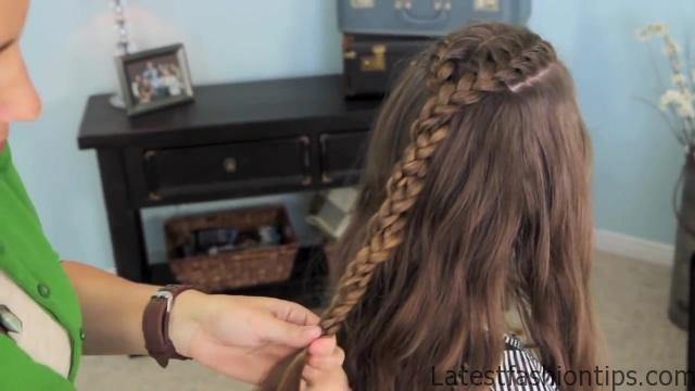 Double French Braid and Twist _ Game of Thrones _ Cute Girls Hairstyles_HD720 14