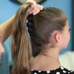 Double French Messy Bun _ Updo Hairstyles_HD720 15