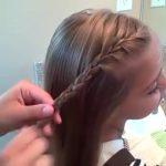 Double-French Tieback _ Quinn Fabray _ Glee Hairstyles_360P 6
