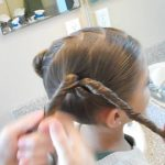 Double Heart Twists _ Valentine's Day _ Cute Girls Hairstyles_HD720 08