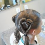 Double Heart Twists _ Valentine's Day _ Cute Girls Hairstyles_HD720 09