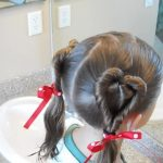 Double Heart Twists _ Valentine's Day _ Cute Girls Hairstyles_HD720 12
