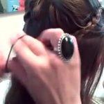 Double-Hidden Braids _ Back to School _ Cute Girls Hairstyles_360P 8