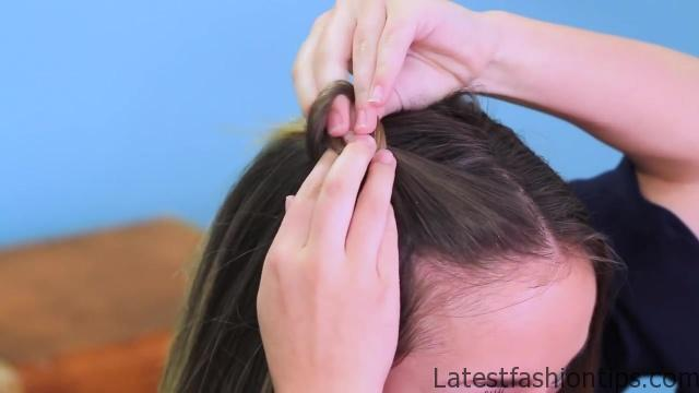 Double Knot Pullback from Legally Blonde _ Cute Girls Hairstyles_HD720 6