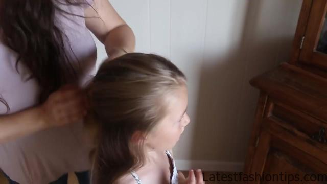 Double Lace Updo _ Homecoming Hairstyle _ Cute Girls Hairstyles_HD720 05