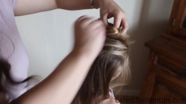 Double Lace Updo _ Homecoming Hairstyle _ Cute Girls Hairstyles_HD720 10