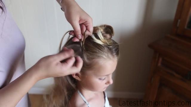 Double Lace Updo _ Homecoming Hairstyle _ Cute Girls Hairstyles_HD720 11
