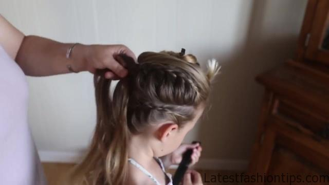 Double Lace Updo _ Homecoming Hairstyle _ Cute Girls Hairstyles_HD720 13
