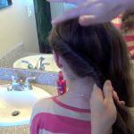 Double Twist-Around Bun _ Updos _ Cute Girls Hairstyles_HD720 07
