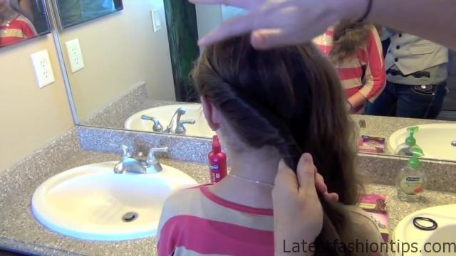 Double Twist Around Bun   Updos   Cute Girls Hairstyles HD720 07 Double Twist Around Bun Updos Hairstyles