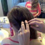 Double Twist-Around Bun _ Updos _ Cute Girls Hairstyles_HD720 08