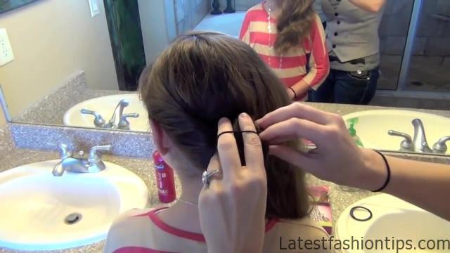 Double Twist Around Bun   Updos   Cute Girls Hairstyles HD720 08 Double Twist Around Bun Updos Hairstyles