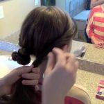 Double Twist-Around Bun _ Updos _ Cute Girls Hairstyles_HD720 09