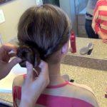 Double Twist-Around Bun _ Updos _ Cute Girls Hairstyles_HD720 10