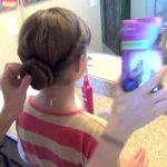 Double Twist-Around Bun _ Updos _ Cute Girls Hairstyles_HD720 11
