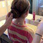 Double Twist-Around Bun _ Updos _ Cute Girls Hairstyles_HD720 12