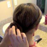 Double Twist-Around Bun _ Updos _ Cute Girls Hairstyles_HD720 13