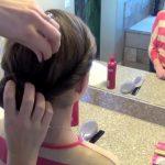 Double Twist-Around Bun _ Updos _ Cute Girls Hairstyles_HD720 14