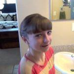 Double Twist-Around Bun _ Updos _ Cute Girls Hairstyles_HD720 15