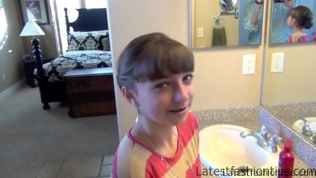 Double Twist Around Bun   Updos   Cute Girls Hairstyles HD720 15 Double Twist Around Bun Updos Hairstyles