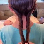 Double-Twist Ponytail _ DaddyDo Hairstyles _ Cute Girls Hairstyles_360P 8
