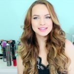 Drugstore Victoria's Secret Curls + New Flat Iron Technique!_HD720 02