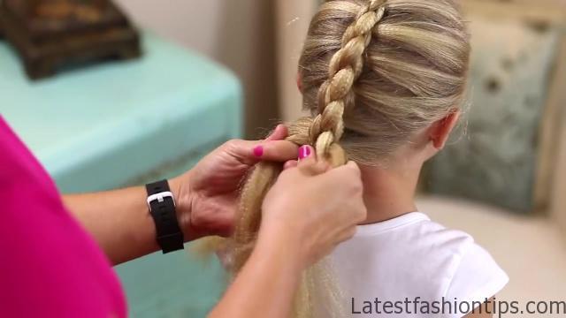 Dutch 3D Braid _ Hairstyles for Sports_HD720 14