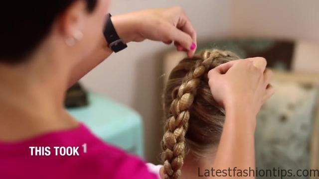 Dutch 3D Braid _ Hairstyles for Sports_HD720 17