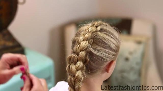 Dutch 3D Braid _ Hairstyles for Sports_HD720 18