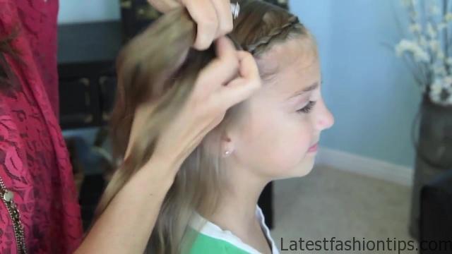 Dutch Flower Braid _ Updos _ Cute Girls Hairstyles_HD720 08