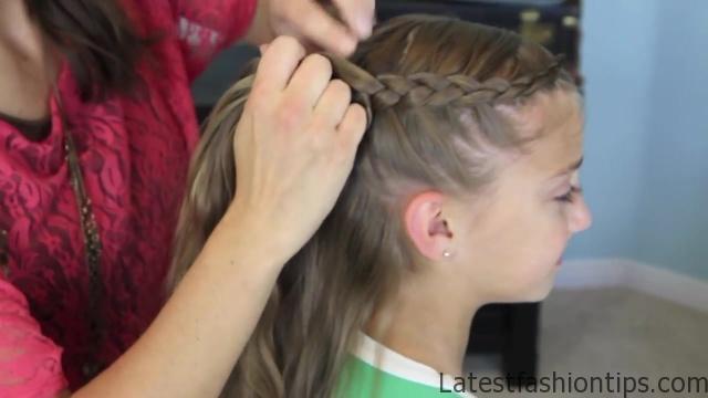 Dutch Flower Braid _ Updos _ Cute Girls Hairstyles_HD720 10