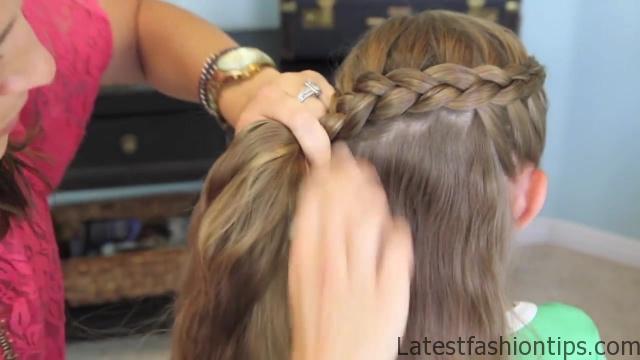 Dutch Flower Braid _ Updos _ Cute Girls Hairstyles_HD720 14