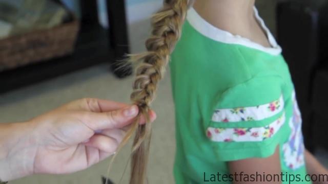 Dutch Flower Braid _ Updos _ Cute Girls Hairstyles_HD720 23