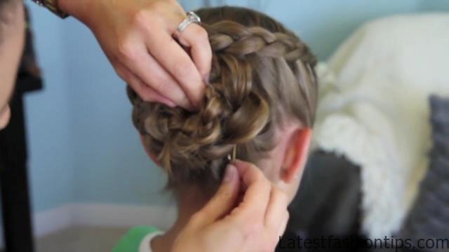 Dutch Flower Braid _ Updos _ Cute Girls Hairstyles_HD720 26