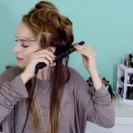 Easy Beachy Half Up Hairstyle for the Holidays!_HD720 04