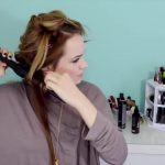 Easy Beachy Half Up Hairstyle for the Holidays!_HD720 05