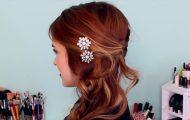 Easy DIY Sparkly _ Statement Hair Accessories!_HD720 10