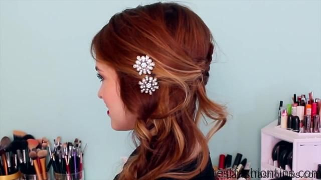 Easy DIY Sparkly _ Statement Hair Accessories!_HD720 10