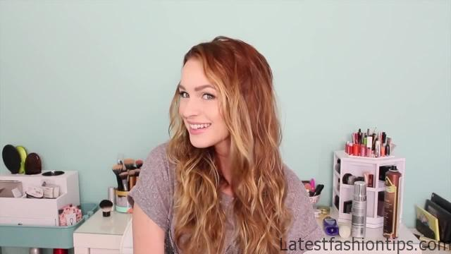 Easy Heatless Beachy Waves _ Favorite Hairstyle of the Month!_HD720 2