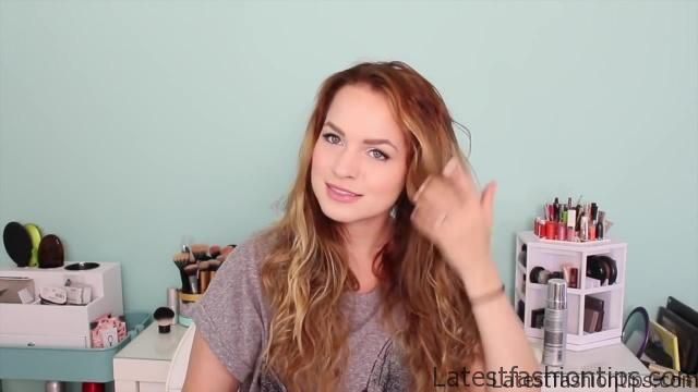 Easy Heatless Beachy Waves _ Favorite Hairstyle of the Month!_HD720 8